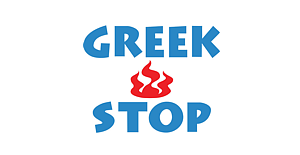 Greek Stop Logo