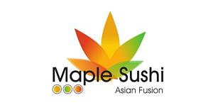 Maple Sushi Restaurant Logo
